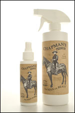 Horse Liniment Spray bottles in two sizes